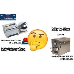 Nên mua máy làm viên hoàn tự động hay máy làm viên hoàn bán tự động